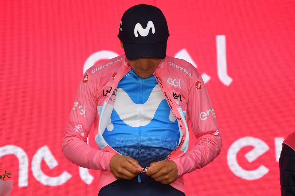 Giro de Italia carapaz JoanSeguidor