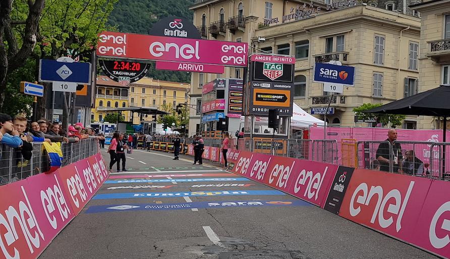 Giro de Italia meta Como JoanSeguidor