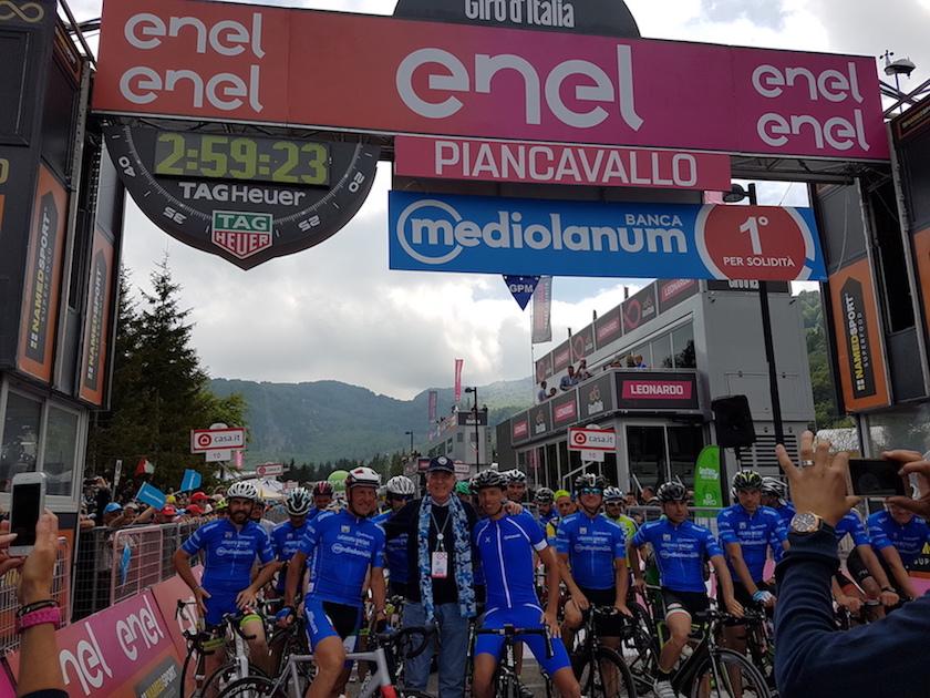 Giro Italia Mediolanum Ennio Doris Ballan Moser JoanSeguidor