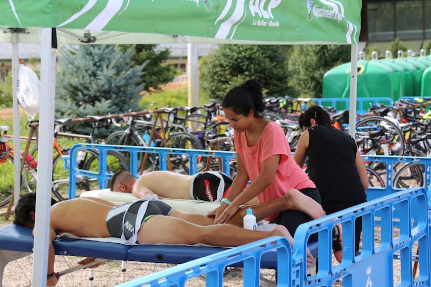 Cerdanya Cycle Tour masaje JoanSeguidor