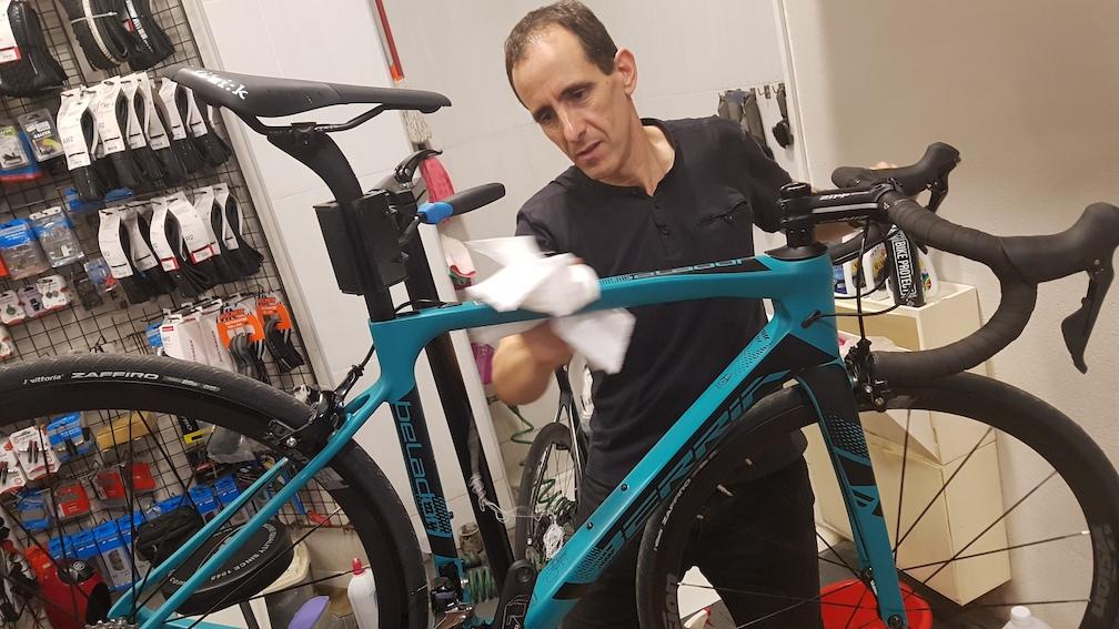 24 horas Montmeló ajuste bicicleta Berria JoanSeguidor