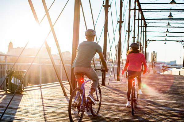 luces bicicleta